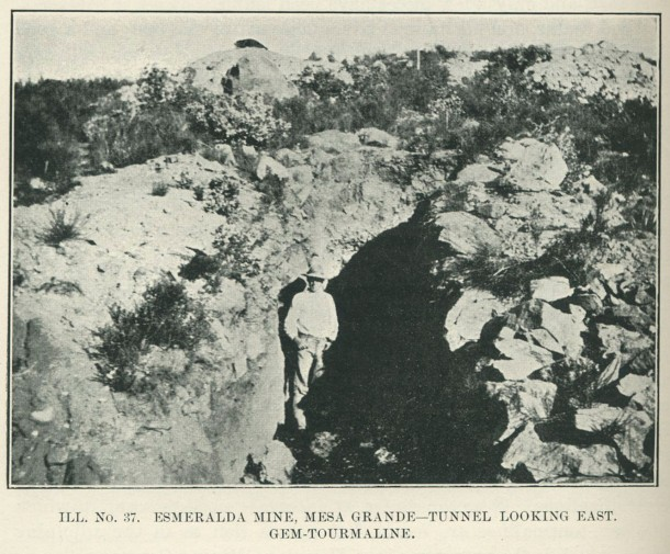 Gordon at the Esmeralda Mine