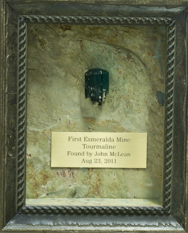 Tourmaline in Frame photo image