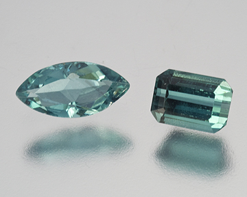 Faceted Indicolites photo image
